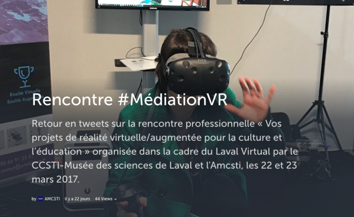 Storify-MediationVR