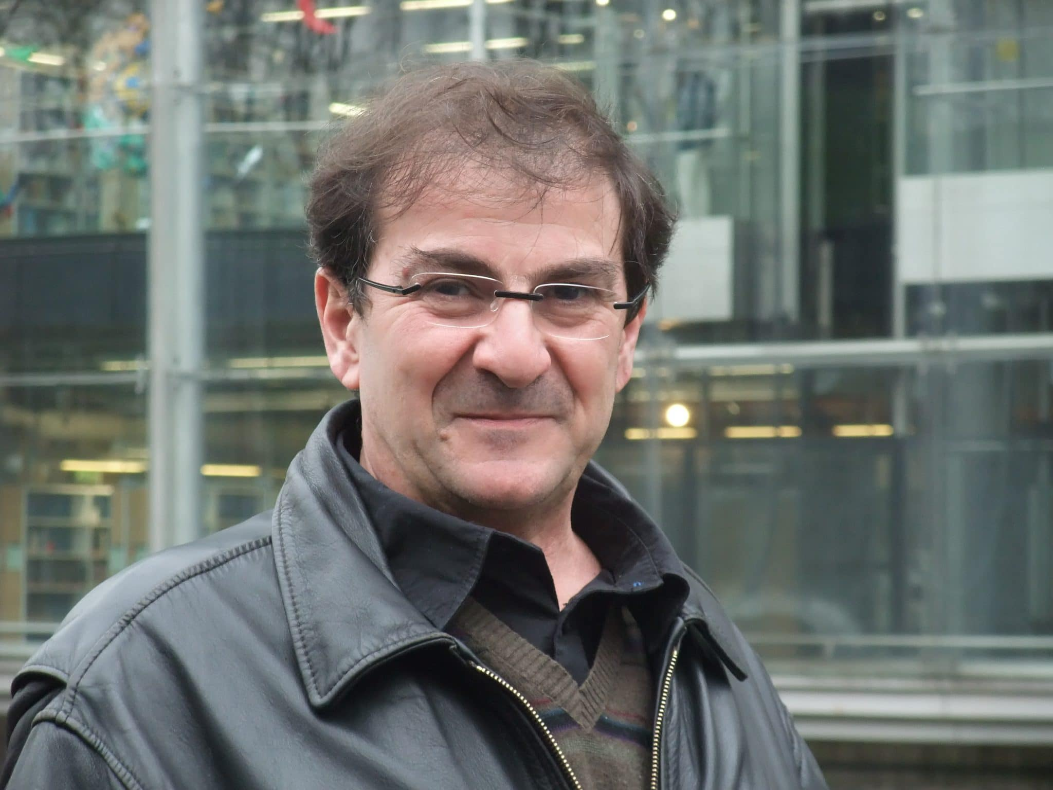 Alain Labouze, chef du département Actualités et Audiovisuel à Universcience